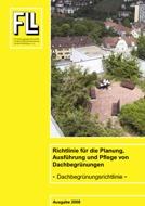 Dachbegrünungsrichtlinie