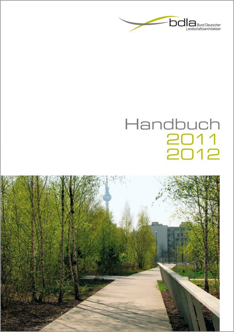 Handbuch LANDSCHAFTSARCHITEKTEN 2011/2012