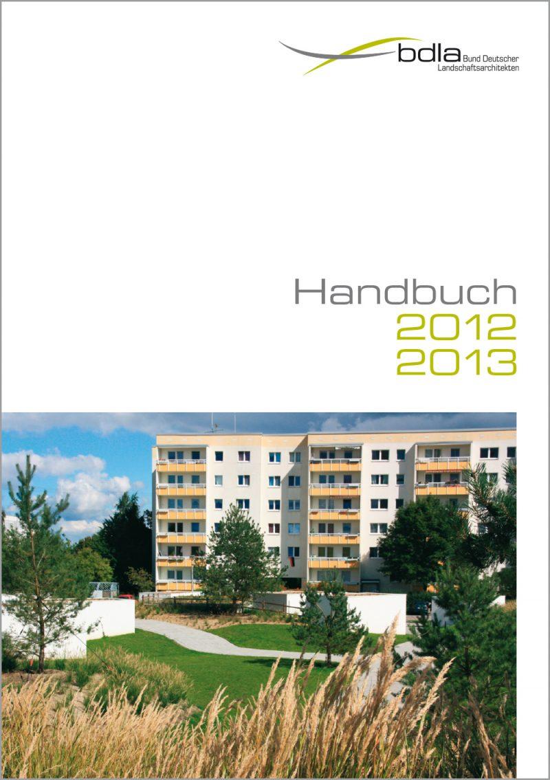 Handbuch LANDSCHAFTSARCHITEKTEN 2012/2013