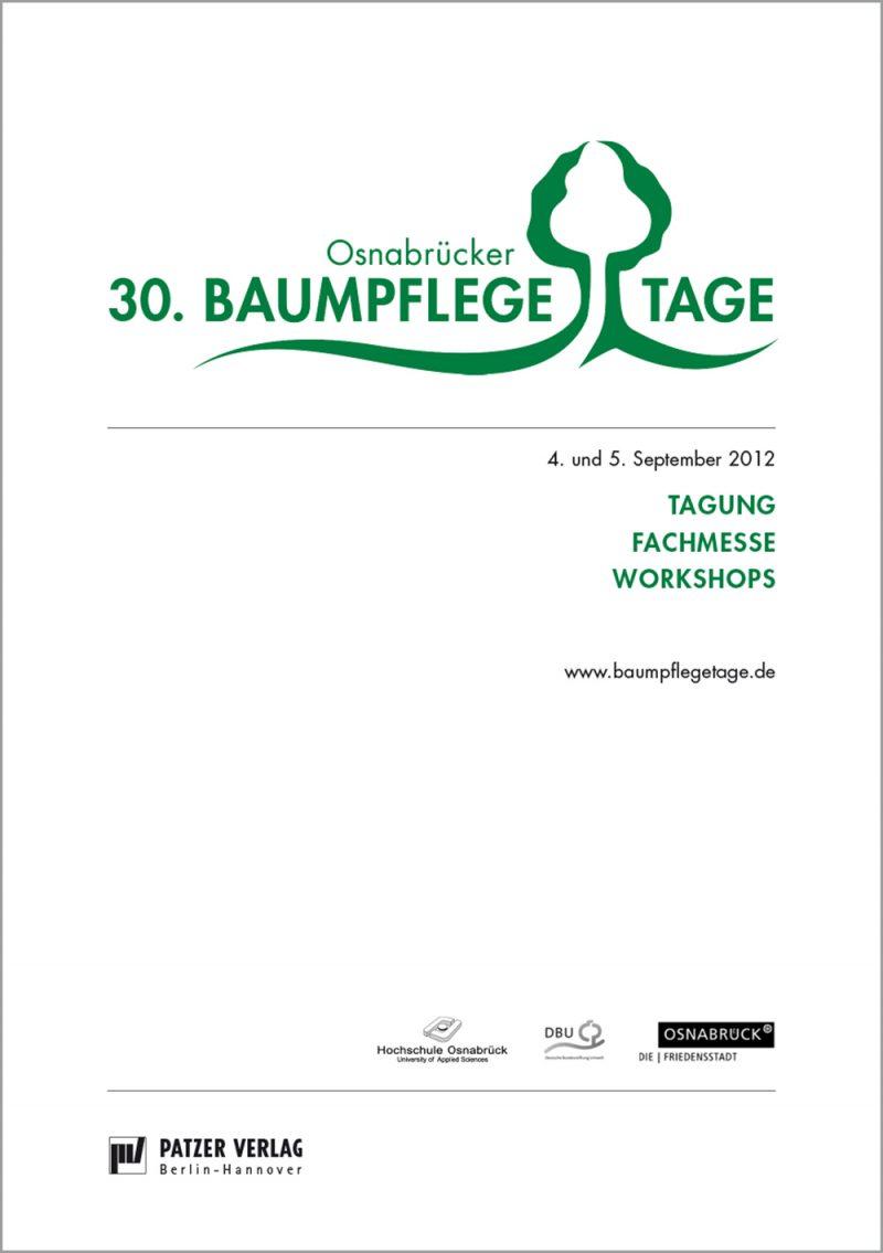 Tagungsband 30. Osnabrücker Baumpflegetage