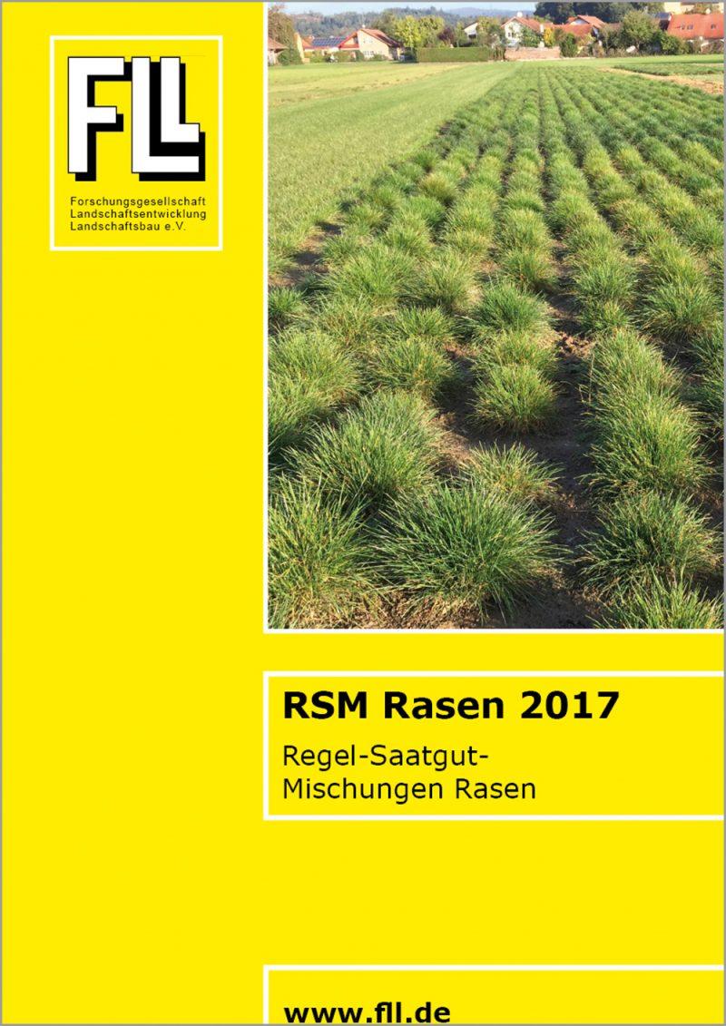 Regel-Saatgut-Mischungen Rasen, 2017