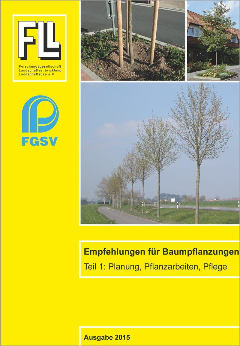 Empfehlungen für Baumpflanzungen – Teil 1
