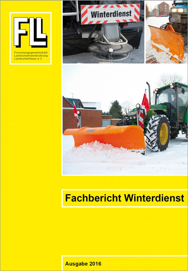 Fachbericht Winterdienst, 2016