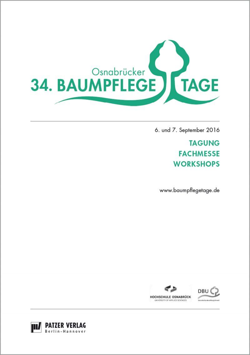 Tagungsband 34. Osnabrücker Baumpflegetage