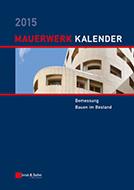 Mauerwerk-Kalender 2015