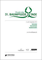Tagungsband 31. Osnabrücker Baumpflegetage
