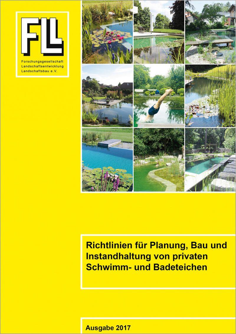 Richtlinien für Planung, Bau und Instandhaltung von privaten Schwimm- und Badeteichen