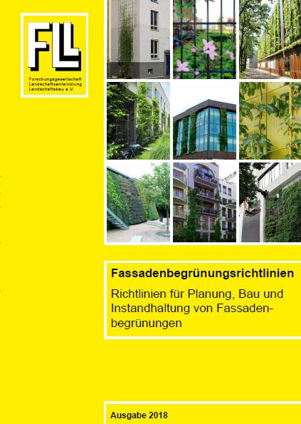 Fassadenbegrünungsrichtlinie, 2018