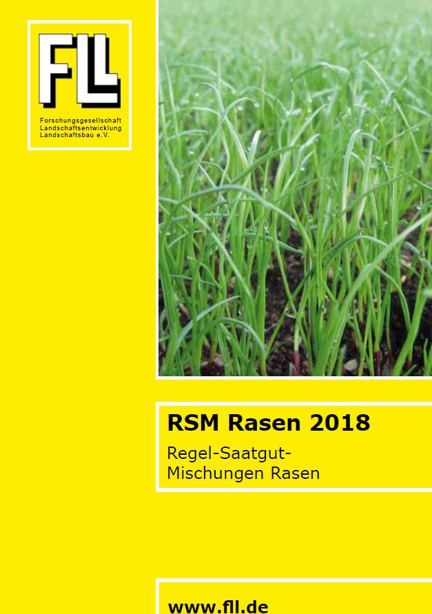 Regel-Saatgut-Mischungen Rasen, 2018