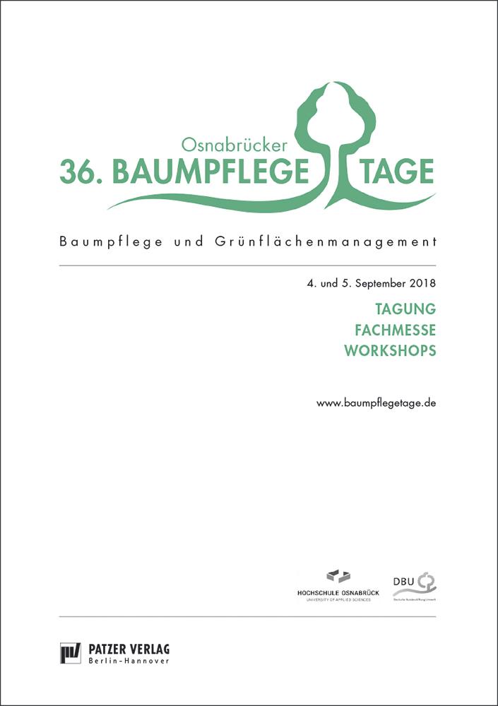 Tagungsband 36. Osnabrücker Baumpflegetage