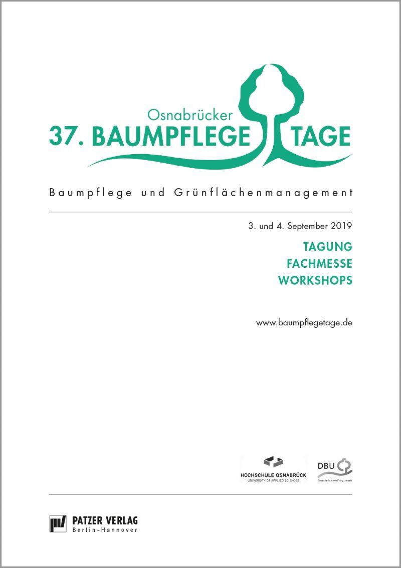 Tagungsband 37. Osnabrücker Baumpflegetage
