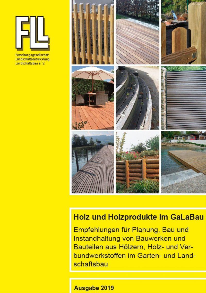 Holz und Holzprodukte im GaLaBau