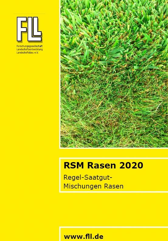 Regel-Saatgut-Mischungen Rasen, 2020