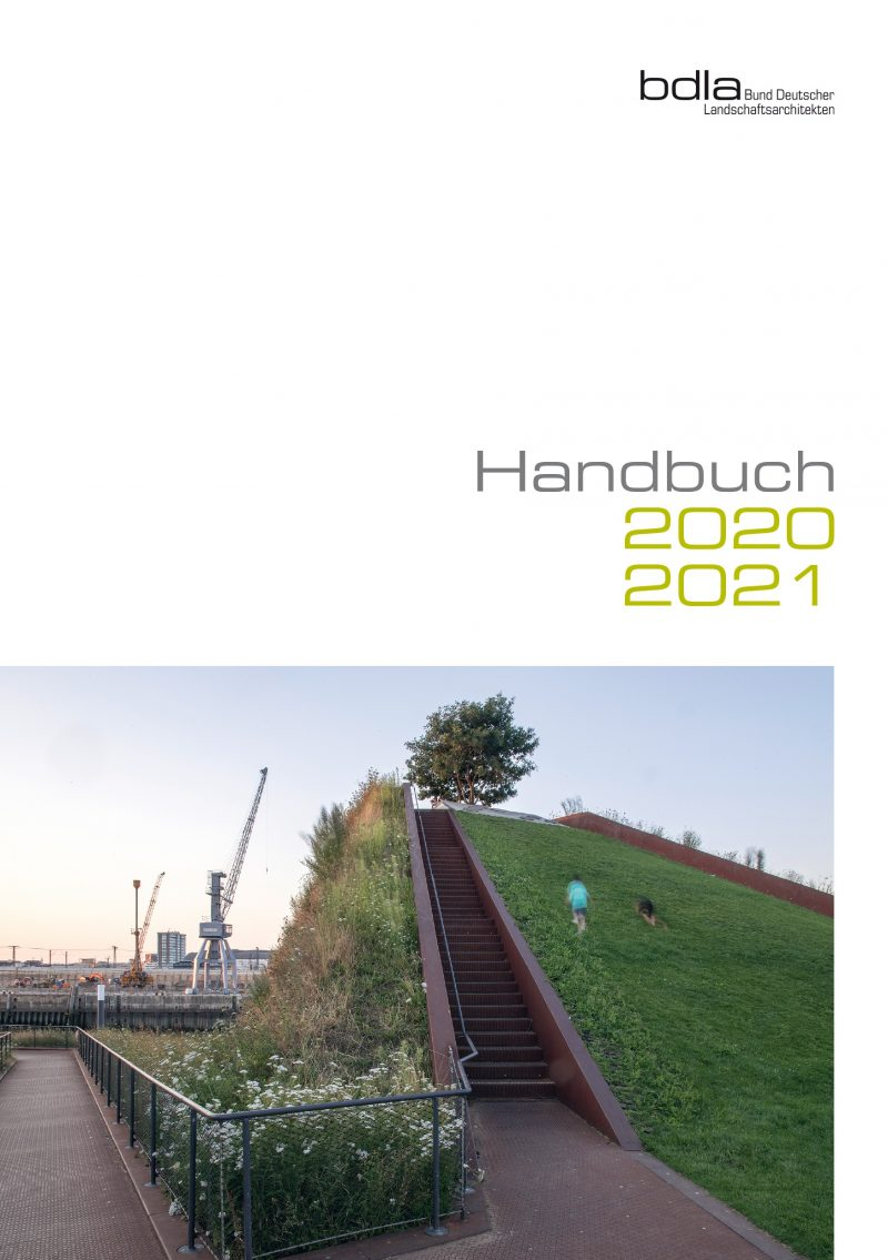 Handbuch LANDSCHAFTSARCHITEKTEN 2020/2021