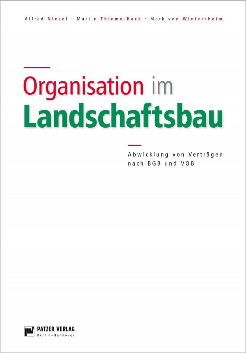 Organisation im Landschaftsbau