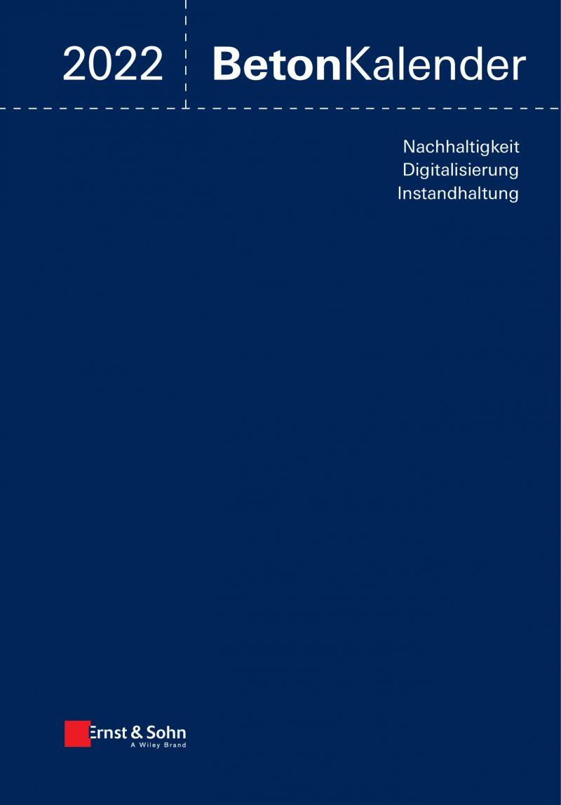 Beton Kalender 2022 (2 Bände)